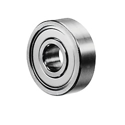 Small Deep Groove Ball Bearing - Double Shielded (MISUMI)