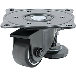 Casters with Leveling Mounts - Light Load