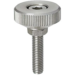 Knurled Knobs/For Socket Head Cap Screws