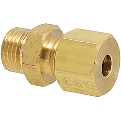 Copper Pipe Fittings - Union, Threaded End (MISUMI)