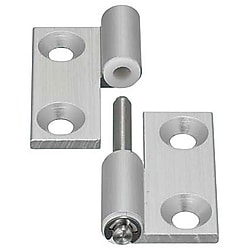 Aluminium Hinges/Detachable