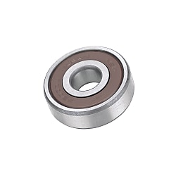 Deep Groove Ball Bearing - Contact Sealed, Stainless Steel (MISUMI)