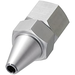 Nozzles with bite type tube fitting