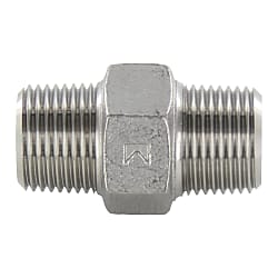 Stainless Steel Hexagon Nipple Threaded Fitting