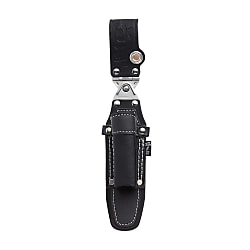 Gokusyoh Black Leather Double Swing Ratchet Wrench Holster