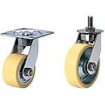 Casters for Clean Environment/Plate Type with Swivel