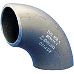Butt Weld Pipe Fitting, Steel Pipe, 90° Elbow, Black Tube