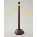 Chain Stand - Plastic Chain Stand - Brown / Black/White