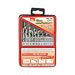 GT Drill Set For Ironworking, GTHDS-19