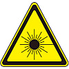Laser warning label laser A (large)