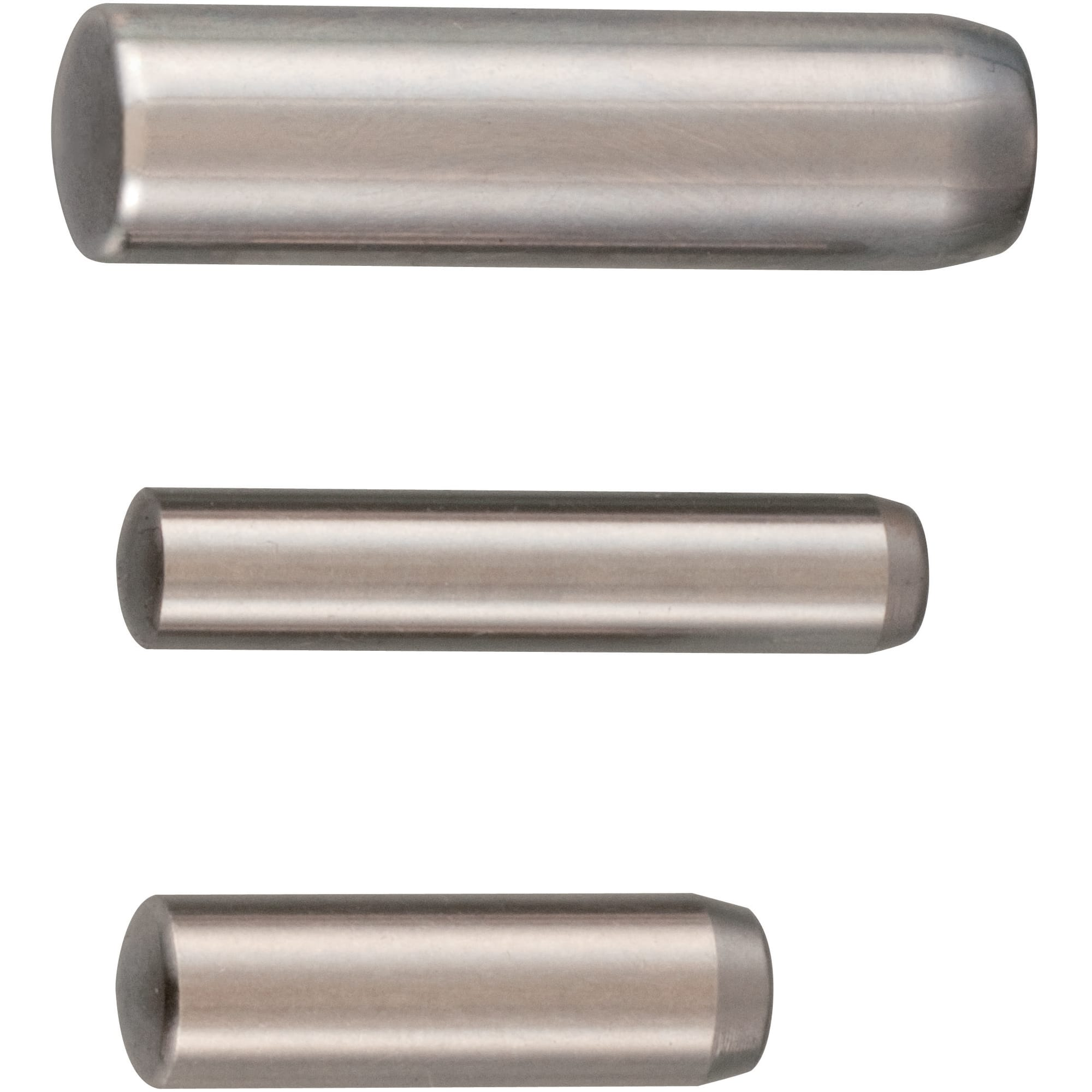 5 mm by 25 mm Antrader Dowel Pins 304 Stainless Steel Cylindrical Pin Locating Pin 50PCS
